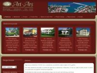 Frontpage screenshot for site: Nekretnine Art Ars (http://www.art-ars.hr)