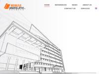 Frontpage screenshot for site: Međimurje Graditeljstvo d.o.o. Čakovec (http://www.medjimurje-graditeljstvo.hr/)