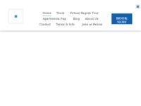 Frontpage screenshot for site: Turistička agencija Petros (http://www.petros.hr/)