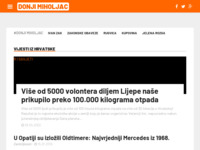 Slika naslovnice sjedišta: Internet portal - Grad Donji Miholjac (http://donji-miholjac.net/)