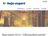 Slika naslovnice sjedišta: Buje - export d.d. (http://www.buje-export.hr)