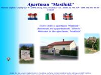Frontpage screenshot for site: Privatni smještaj u apartmanu (http://free-pu.htnet.hr/apartment/)