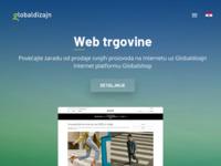 Slika naslovnice sjedišta: Globaldizajn d.d. Interaktivna rješenja (http://www.globaldizajn.hr)