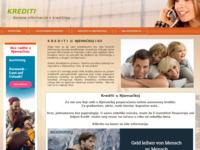 Slika naslovnice sjedišta: Krediti (http://www.krediti.savjeti.com)