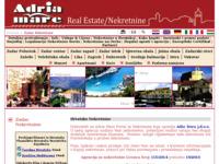 Slika naslovnice sjedišta: Adria Mare Nekretnine (http://www.adriamare.hr/)