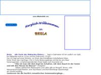 Frontpage screenshot for site: Villa Dominik (http://www.villadominik.com)