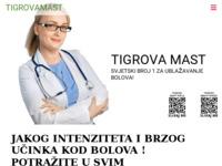 Slika naslovnice sjedišta: Tigrova mast, uvoznik za Hrvatsku-Findi (http://www.tigrovamast.com/)