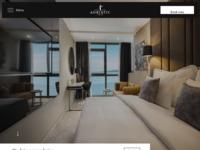 Frontpage screenshot for site: Grand Hotel Adriatic d.d., Opatija, Hrvatska (http://www.hotel-adriatic.hr)
