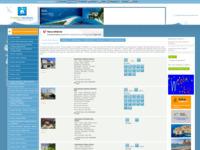 Slika naslovnice sjedišta: Odmor u Hrvatskoj (http://www.croatian-vacations.com)