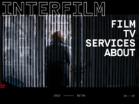 Frontpage screenshot for site: Interfilm d.o.o. (http://www.interfilm.hr)