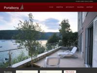 Frontpage screenshot for site: Rabac Apartmani Portalbona (http://www.portalbona.com)
