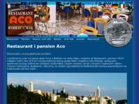 Frontpage screenshot for site: Restaurant i pansion Aco (http://www.aco-rab.hr/)