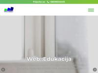 Slika naslovnice sjedišta: Web::Edukacija (http://www.webedukacija.com/)