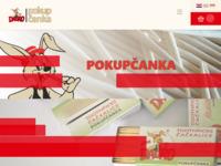 Frontpage screenshot for site: Pokupčanka (http://www.pokupcanka.hr/)