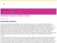 Slika naslovnice sjedišta: Blanka Vlašić (http://www.blanka-vlasic.hr/)