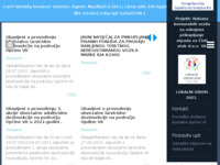 Frontpage screenshot for site: (http://www.vir.hr/)