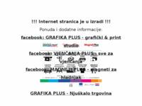 Slika naslovnice sjedišta: Grafika Plus (http://www.grafikaplus.hr/)