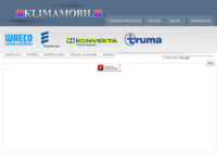 Slika naslovnice sjedišta: Klimamobil (http://www.klimamobil.hr/)