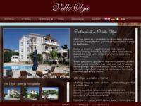 Frontpage screenshot for site: Villa Olga - luksuzni apartmani i sobe s bazenom (http://www.villaolga-croatia.com)