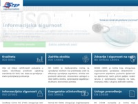 Frontpage screenshot for site: STEP osiguranje kvalitete d.o.o. (http://www.step-kvaliteta.hr)