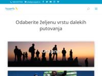 Frontpage screenshot for site: Turistička agencija Perzepolis (http://www.perzepolis.hr/)