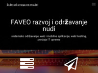 Slika naslovnice sjedišta: Faveo d.o.o. (http://www.faveo.hr/)