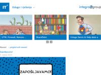 Slika naslovnice sjedišta: Integra Group (http://www.integragroup.hr/)