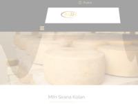 Slika naslovnice sjedišta: Sirana MIH - paški sir (http://www.siranamih.hr)
