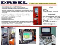 Frontpage screenshot for site: Dabel (http://www.dabel.hr)