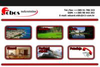 Frontpage screenshot for site: Fobos nekretnine (http://www.fobos-nekretnine.hr/)