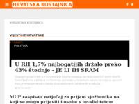 Slika naslovnice sjedišta: Internet portal - Grad Hrvatska Kostajnica (http://hrvatska-kostajnica.net/)