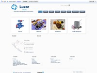 Frontpage screenshot for site: Luxor grupa (http://www.luxor-grupa.hr)