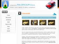 Slika naslovnice sjedišta: Pia Officium d.o.o. (http://www.pia-officium.hr/)
