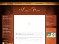 Frontpage screenshot for site: Kaštel Pineta (http://www.kastelpineta.com)