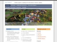 Slika naslovnice sjedišta: Klesarstvo R&R Ribarić (http://www.rr-ribaric.hr/)