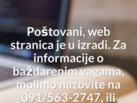 Slika naslovnice sjedišta: Blažek d.o.o. (http://www.blazek.hr)