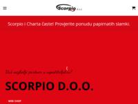 Slika naslovnice sjedišta: Scorpio d.o.o. (http://www.scorpio.hr/)