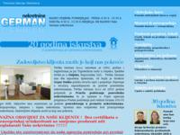Frontpage screenshot for site: German nekretnine Osijek (http://www.german-nekretnine.hr/)