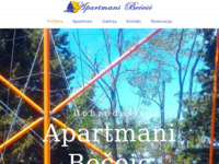 Frontpage screenshot for site: Apartmani Bečeić - Njivice (http://www.apartmani-beceic.hr/)