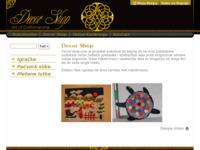 Frontpage screenshot for site: Decor Shop (http://decor-shop.com)