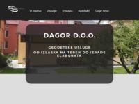 Slika naslovnice sjedišta: Dagor d.o.o. (http://www.dagor.hr)