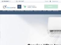 Frontpage screenshot for site: Klima Centar (http://klimacentar.com/)