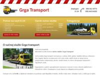 Slika naslovnice sjedišta: Vučna služba Grgurić (http://www.vucna-sluzba.net/)