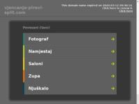 Frontpage screenshot for site: Informacije o vjenčanjima u Splitu i okolici (http://www.vjencanja-pirevi-split.com)