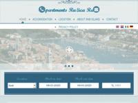 Frontpage screenshot for site: Apartmani otok Rab - Ružica (http://www.apartments-ruzica-rab.com/)