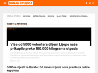 Slika naslovnice sjedišta: Internet portal - Donja Stubica (http://www.donja-stubica.net/)