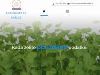 Slika naslovnice sjedišta: Euroinspekt Osijek (http://www.euroinspekt-osijek.hr/)
