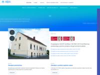 Frontpage screenshot for site: Vodovod i kanalizacija d.o.o. Ogulin (http://www.vodovod-ogulin.hr/)