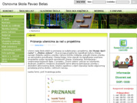 Slika naslovnice sjedišta: Osnovna škola Pavao Belas (http://www.os-pavao-belas.skole.hr)
