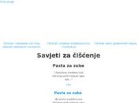 Slika naslovnice sjedišta: Srna usluge i trgovina (http://www.srna-usluge.hr)